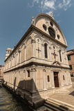 Santa Maria dei Miracoli church in Venice Stock Photo