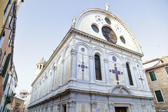 Santa Maria dei Miracoli is a church, Venice, Italy Stock Photos