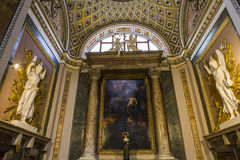 Santa Maria-dei Miracoli-Kirche, Rom, Italien Stockfotos