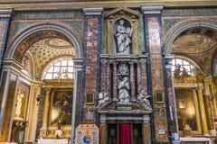 Santa Maria-dei Miracoli-Kirche, Rom, Italien Stockbilder