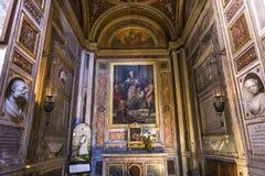 Santa Maria-dei Miracoli-Kirche, Rom, Italien Lizenzfreies Stockfoto