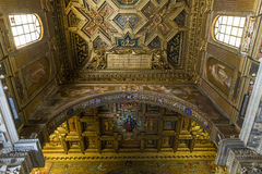 Santa Maria-dei Miracoli-Kirche, Rom, Italien Lizenzfreies Stockbild