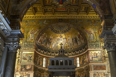 Santa Maria-dei Miracoli-Kirche, Rom, Italien Lizenzfreie Stockfotos