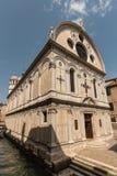 Santa Maria dei Miracoli kościół w Wenecja Zdjęcie Stock