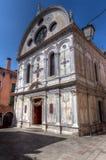 Santa Maria dei Miracoli, Venedig, Italien Royaltyfri Foto