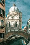 Santa Maria dei Miracoli in Venice, Italia Royalty Free Stock Photo