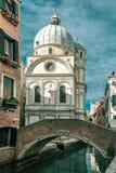 Santa Maria dei Miracoli w Wenecja, Italia Zdjęcie Royalty Free