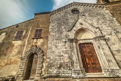 Santa Maria dei Servi church. In Montepulciano, Tuscany Royalty Free Stock Image