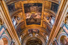 Santa Maria deiMiracoli kyrka, Rome, Italien Arkivfoto