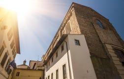 Santa Maria del Carmine è una chiesa dell'ordine Carmelitano Immagine Stock Libera da Diritti