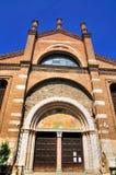 Chruch in Brescia, Italië stock foto