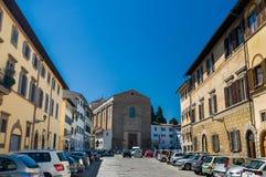 Santa Maria del Carmine is een kerk van de Carmelite Orde Stock Foto