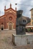 Santa Maria del Carmine em Milão foto de stock royalty free