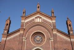 Santa Maria del Carmine-Kirche Stockfoto