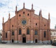 Santa Maria del Carmino-Kirche von Pavia lizenzfreie stockbilder