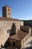 Santa Maria del Castillo church, Buitrago de Lozoya, Stock Photo
