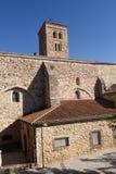 Santa Maria del Castillo church, Buitrago de Lozoya, Royalty Free Stock Images
