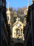 Santa Maria Del Coro, Donostia (Baskijski Kraj) Fotografia Royalty Free