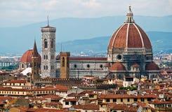 Santa Maria Del Fiore à Florence photo libre de droits