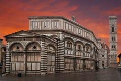 Santa Maria Del Fiore à Florence images libres de droits