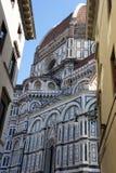 Santa Maria del Fiore, собор Duomo в Флоренсе, Италии Стоковое Изображение