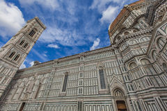 Santa Maria del Fiore catedral in Florence Royalty Free Stock Photography