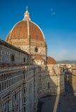Santa Maria del Fiore Cathedral, anche chiamata Duomo, Toscana Fotografia Stock