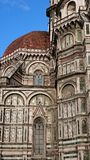 Santa Maria del Fiore cathedral -architectural details Royalty Free Stock Photo