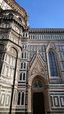Santa Maria del Fiore cathedral -architectural details Stock Photos