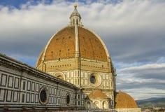 Santa Maria del Fiore Cathedral a Firenze Immagine Stock Libera da Diritti