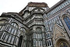 Santa Maria del Fiore Cathedral Florence, Italien Arkivfoton