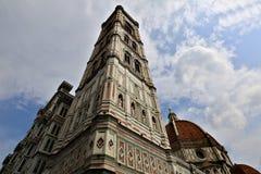 Santa Maria del Fiore Cathedral Florence, Italien Royaltyfria Foton