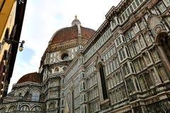 Santa Maria del Fiore Cathedral Florence, Italien Royaltyfri Foto