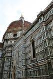 Santa Maria del Fiore Cathedral Florence, Italien Arkivbild