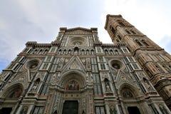 Santa Maria del Fiore Cathedral Florence, Italien Arkivbilder