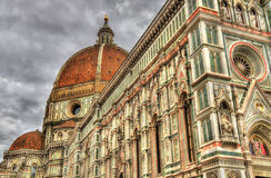 Santa Maria del Fiore, the Cathedral of Florence Royalty Free Stock Photos