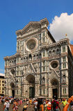 Santa Maria del Fiore cathedral in Florence. Italy Royalty Free Stock Photos