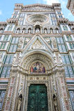 Santa Maria del Fiore cathedral in Florence, Italy Royalty Free Stock Photography
