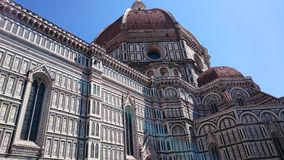 Santa Maria del Fiore cathedral in Florence, Italy Royalty Free Stock Images