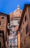 Santa Maria Del Fiore Cathedral, Florenz Stockbilder