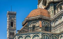 Santa Maria Del Fiore Cathedral, Florenz Stockfotos