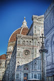 Santa Maria del Fiore cathedral in hdr Stock Photography