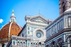 Santa Maria del Fiore Cathedral van Heilige Mary van Bloem is hoofdkerk van Florence, Italië royalty-vrije stock foto's