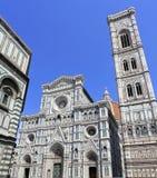 Santa Maria del Fiore Dome and Campanile di Giotto, Florence Royalty Free Stock Image