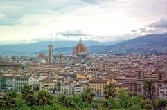 Santa Maria del Fiore domkyrka, Florence Duomo royaltyfri foto