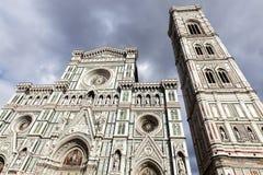 Santa Maria del Fiore (Duomo) in Florence Stock Photos