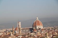 Santa Maria del Fiore em Florença imagem de stock royalty free