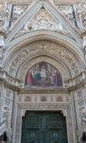 Santa Maria del Fiore Entry Stock Image