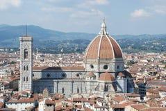 Santa Maria del Fiore a Firenze, Italia Fotografie Stock Libere da Diritti