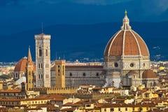 Santa Maria del Fiore in Florence Stock Afbeeldingen